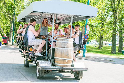 Beerbike 🚲 Tours In Budapest 🍺 Pedalbar